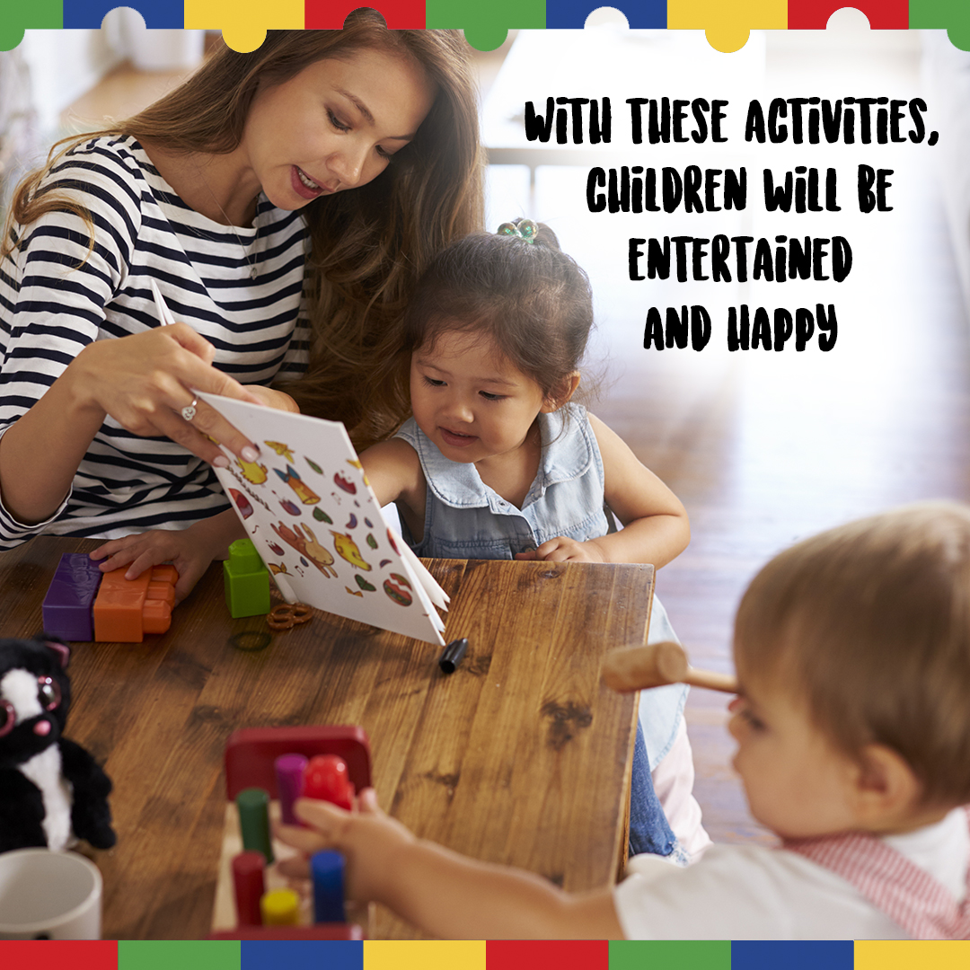 Fun activities for ASD kids.