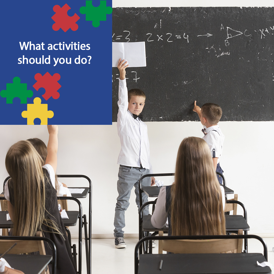 What a child with ASD needs to do in school